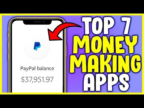 EARN $75 PER DAY IN PAYPAL MONEY! (7 BEST APPS 2020)