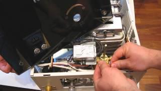 Проверка работоспособности электромагнитного клапана на газовой колонке НЕВА-ТРАНЗИТ ВПГ - 8EG(МТ)(, 2014-04-16T10:44:06.000Z)