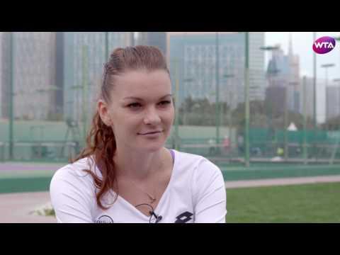 Agnieszka Radwanska | 2017 Qatar Total Open Pre-Tournament Interview