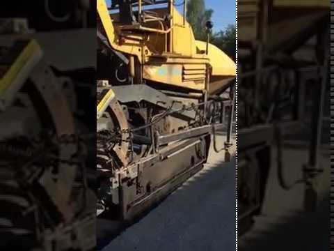 Асфальтирование дорог, укладка асфальта
