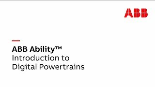Video: Introduction to ABB Ability™  Digital Powertrains for the semiconductor industry