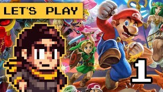 Super Smash Bros. Ultimate Part 1 SWITCH - Let's play with LOKMAN Games