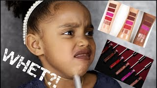 ELLARIE X COLOURPOP REVIEW BY 6 YEAR OLD! | Yoshidoll