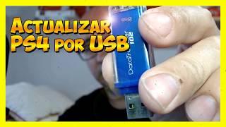 Como Actualizar tu PS4 por USB Fácilmente [Modo Seguro]