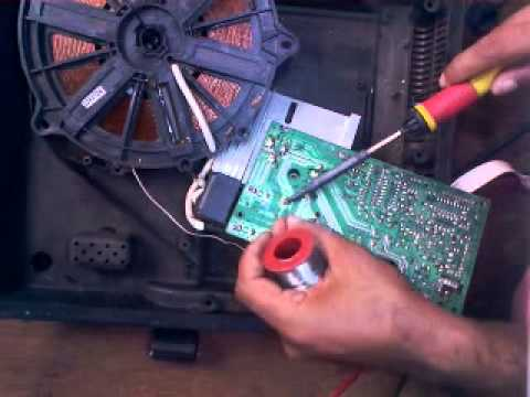 Induction Cooker Quot E0 E7 And Not Heating Quot Repairing Youtube