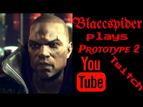 Blaccspider plays Prototype 2 final stream..