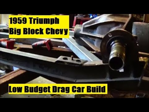 Low Budget Drag Car Build Part 15 Spring Perches For Rear
