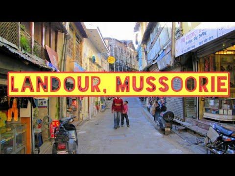 Old Landour Market of Mussoorie, Uttarakhand