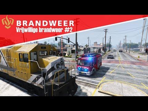 GTA 5 Brandweer - Vrijwillige brandweer dag 2!