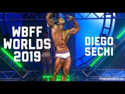 WBFF Worlds 2019 I Bahamas I DIEGO SECHI Routine