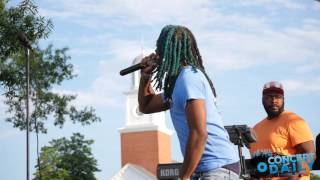 """300 Entertainment's own Dae Dae performs his single """"Wat U Mean"""" live at the DTLR sponsored Lifestyle Summer Festival at the Gateway Pavilion in ..."""