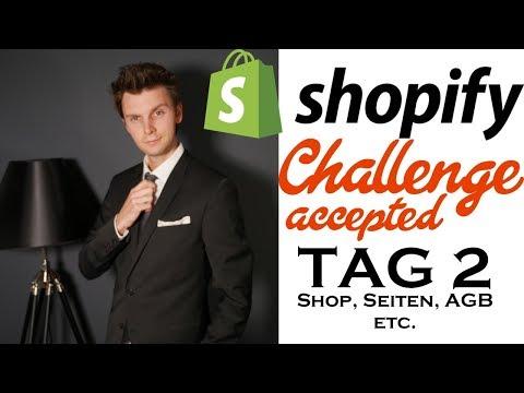 Shopify Challenge (Tag 2) Shop aufbauen mit POD - Print on demand thumbnail
