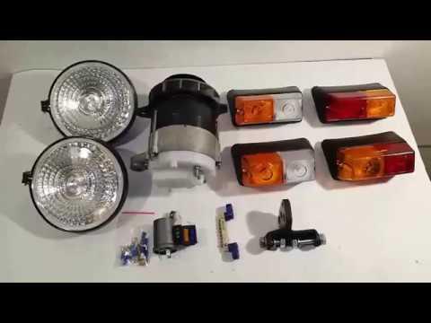 Электро оборудования для мини трактора
