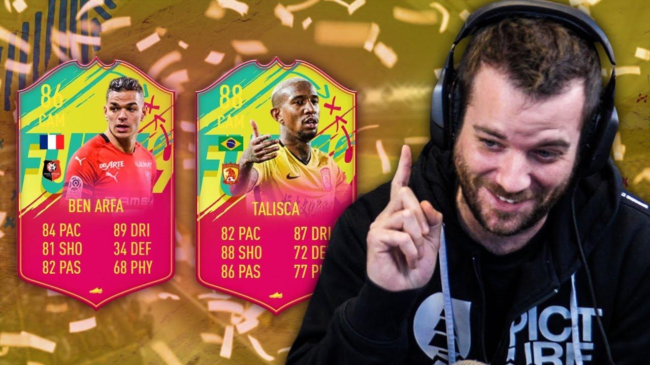 COMMENT AVOIR CES DEUX JOUEURS RAPIDEMENT - FIFA19