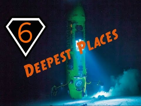 6 Deepest Places on Earth
