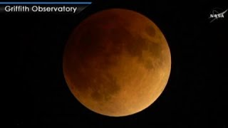 SEE IT: Super Blue Blood Moon Eclipse in under one-minute (NASA coverage)