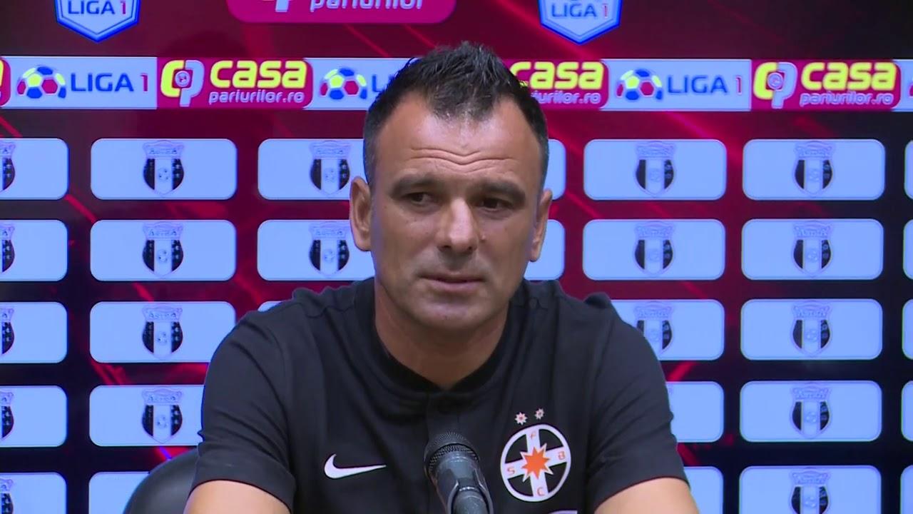 Conferință de Presă   Anton Petrea   Astra Giurgiu   FCSB LIga 1 Etapa 1 2020 2021