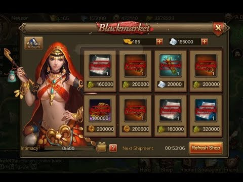 Three Kingdoms: Overlord - Blackmarket and little pony