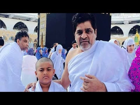 Actor Ali Visits Mecca With Family in Saudi Arabia Photos