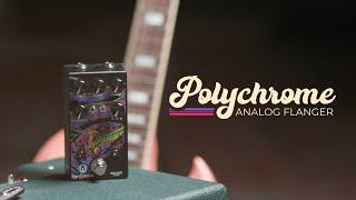 Walrus Audio Polychrome Analog Flanger Tech Demo