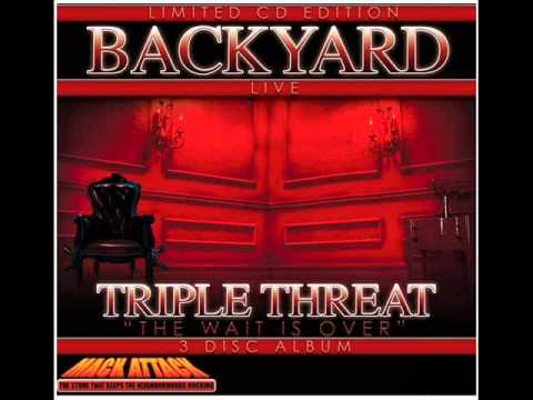 BACKYARD BAND - TRIPLE THREAT ALBUM HITTIN CLOTHES OFF ...