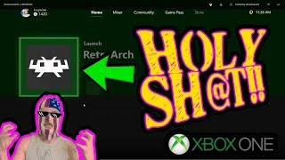 RETROARCH IS COMING TO XBOX ONE VERY SOON! NO JAILBREAK NEEDED!