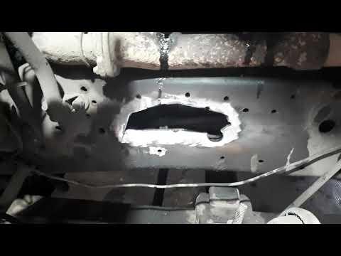Итог по ремонту сломанной рамы сидельного тягача Маз