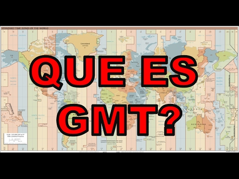 Como Funcionan los Horario GMT - Video Explicativo
