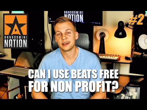 Can I use beats free for non profit use? | #AskAD 2