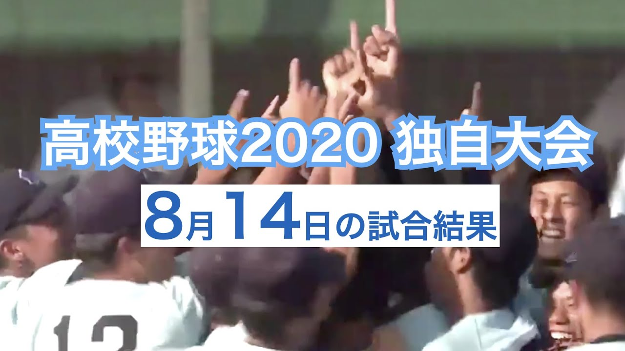 大会 高校 結果 独自 野球 2020年 2020年夏季東西東京都高等学校野球大会
