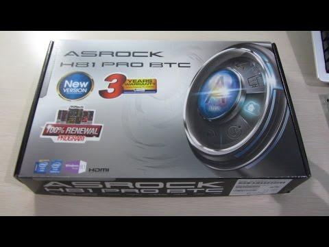 Asrock H81 BTC Pro Unboxing - Do You Even PCIe Slots Bro?