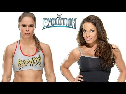 10 Rumored Matches For WWE's Evolution PPV
