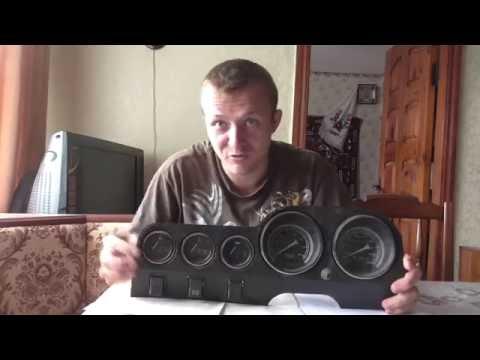 Тюнинг приборной панели ВАЗ 2106 Замена Шкал, что как и с чем .....