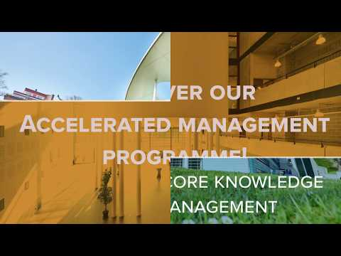 AMP - Accelerated Management Programme (Solvay Brussels School)
