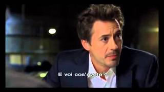 AUDITION TAPE: Robert Downey Jr. audition for Iron Man