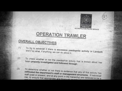 Operation Trawler Detective who wanted to speak to minister taken off case