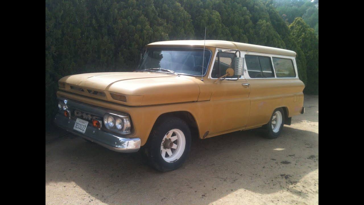 Truck Box For Sale >> GMC 1966 Suburban - YouTube