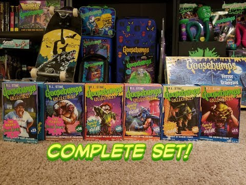 Goosebumps Complete 2nd Series Collectibles!!!