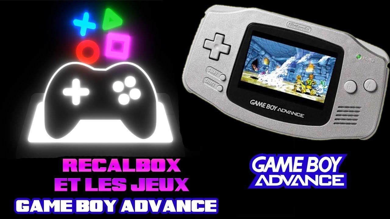 recalbox emulation de la game boy advance sur raspberry pi 3 youtube