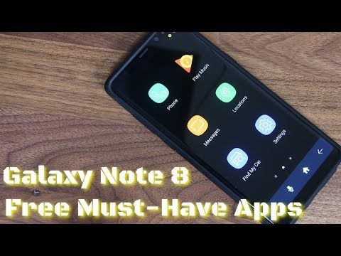5 Must-Have Apps for Samsung Galaxy Note 8 (free & without ads)