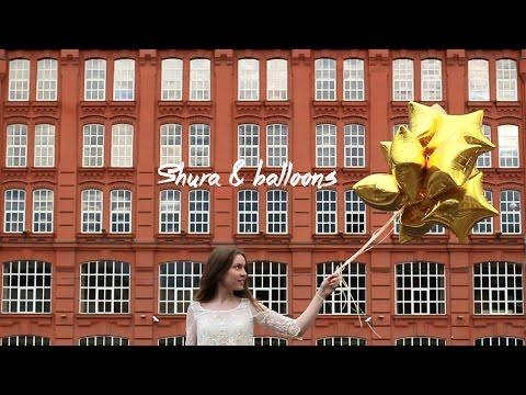 Shura & balloons | video portrait