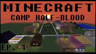 Minecraft Camp Half-Blood Ep 1 - Welcome!