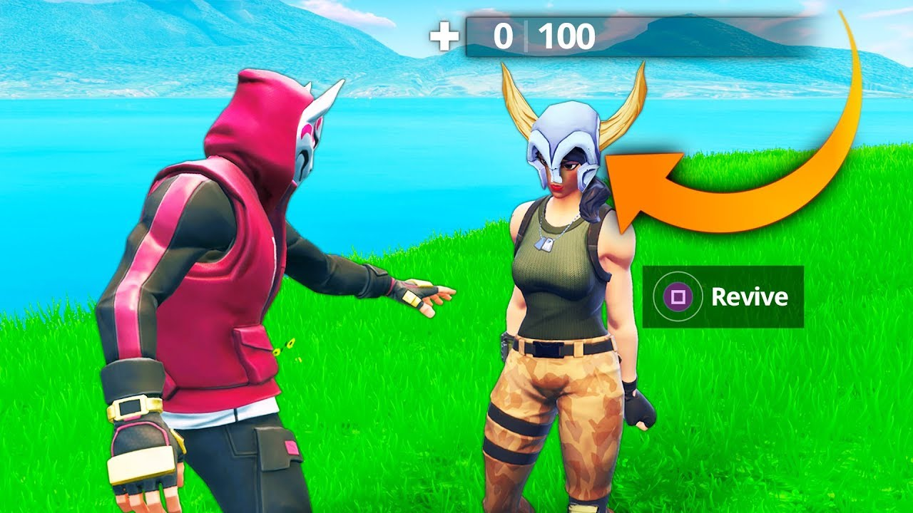 New 0 Hp Revive Trick Fortnite Funny And Best Moments Ep 310