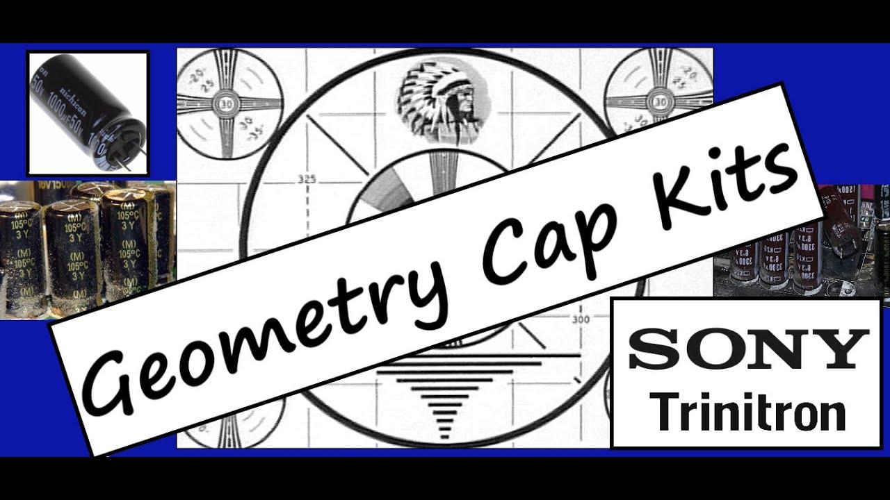 Geometry Cap Kits - Sony PVM Screen Perfection