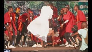 Woli Agba Dance One Corner In Church At His Live Concert In Ibadan, Funny Entrance