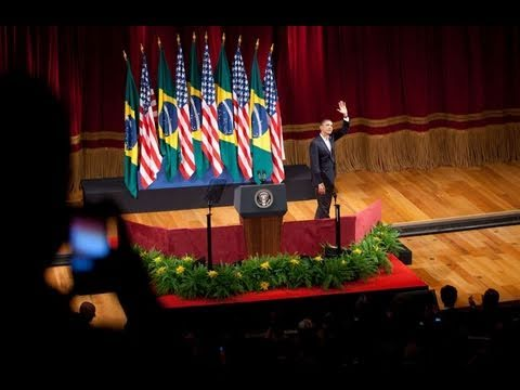 President Obama Speaks to the People of Brazil