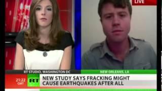 Fracking påvist at lave jordskælv (RTNEWS)