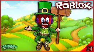 ROBLOX Indonesia #152 Leprechaun Simulator | First day so Leprechaun