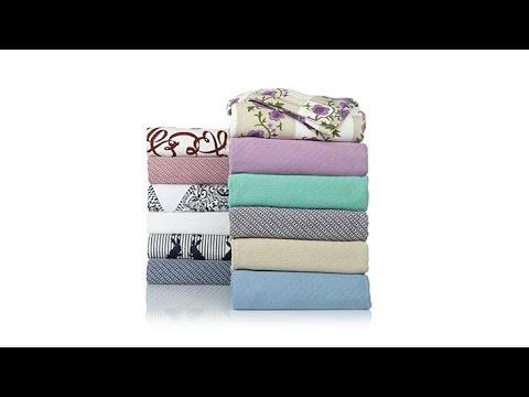 Jeffrey Banks Egyptian Cotton Summer Blanket