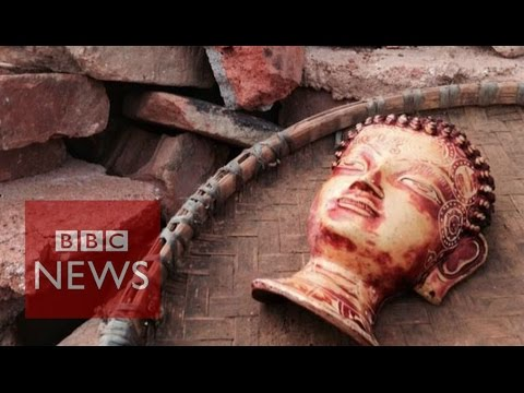 Nepal: Rebuilding lives after 'Great Quake' BBC News